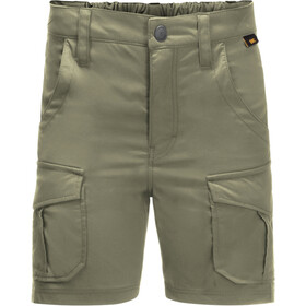 Jack Wolfskin Treasure Hunter Shorts Kinderen, khaki